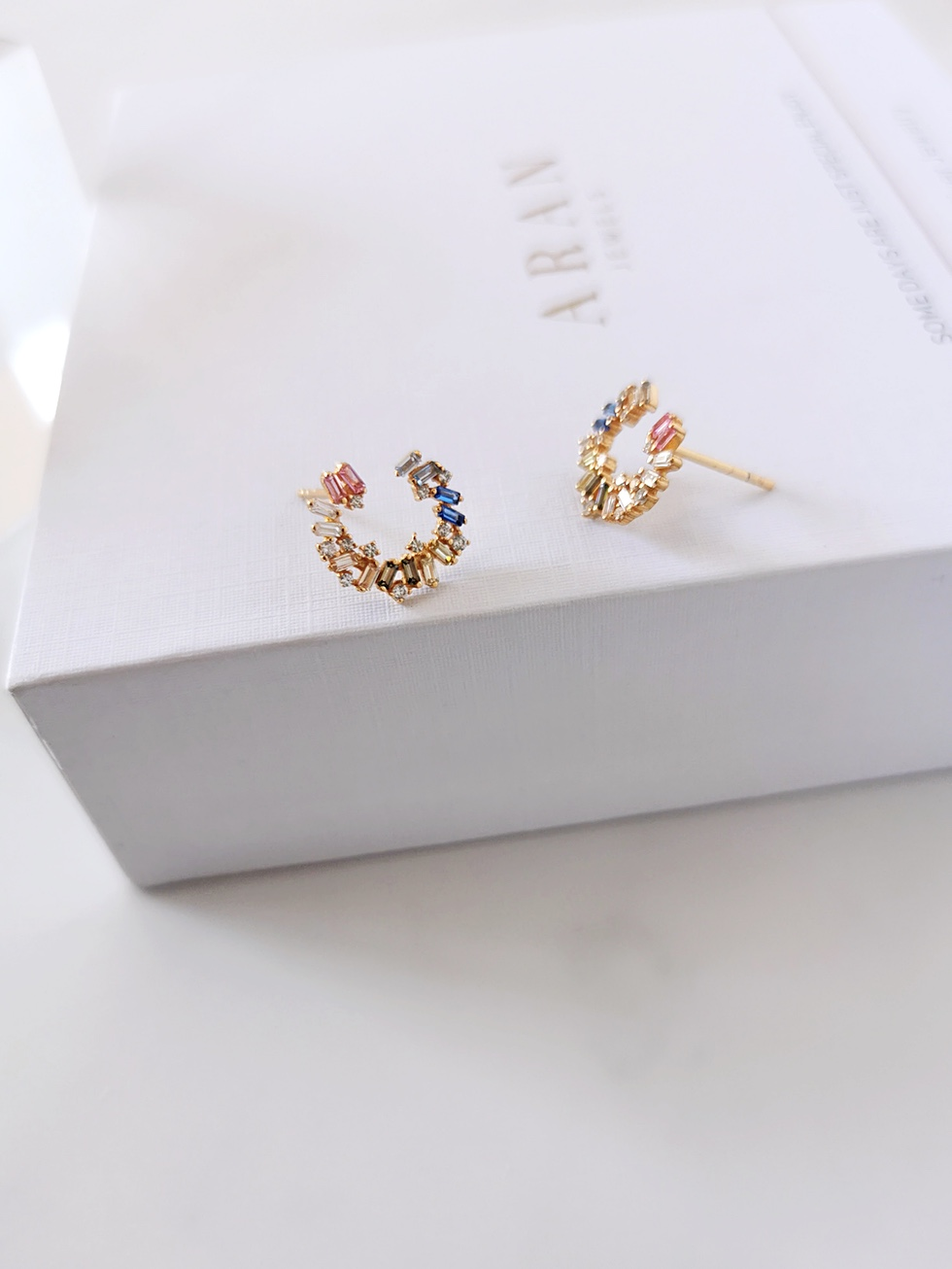 CARACOLA gold earrings