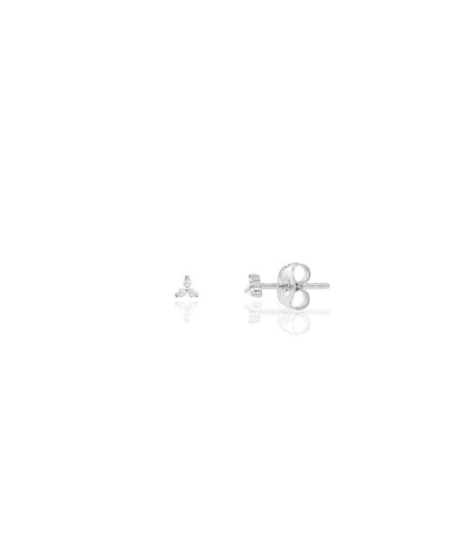 MICRO DOTS silver earrings