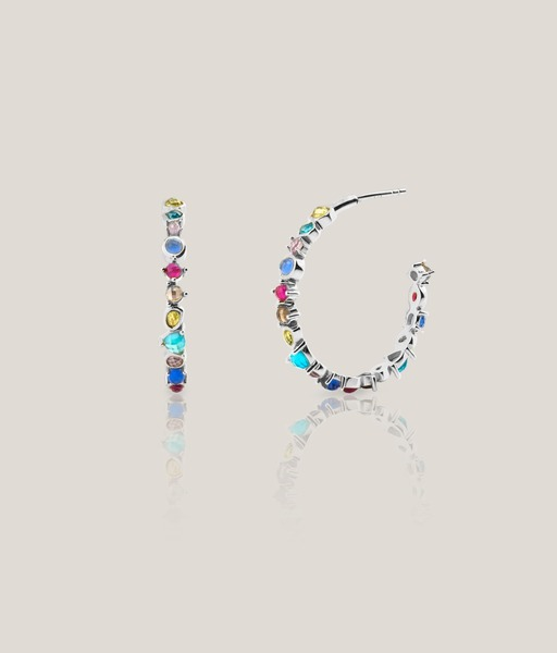 Pendientes CHEERFUL plata