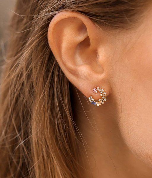 Boucles d'oreilles CARACOLA or