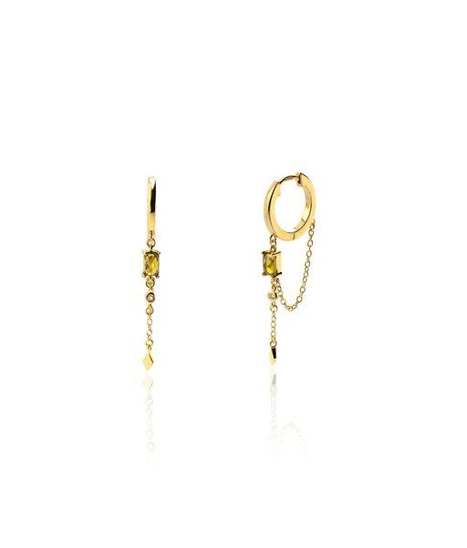 ROYAL gold earrings
