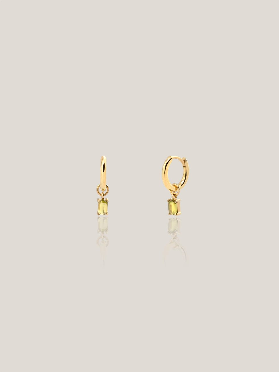 LILY GREEN gold earrings