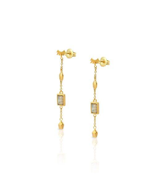 NIRVANA gold earrings