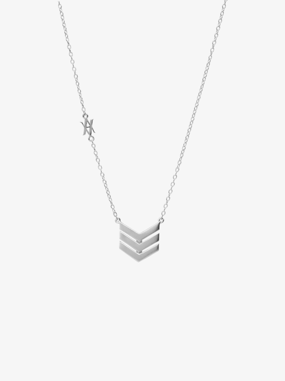 TIRS silver necklace