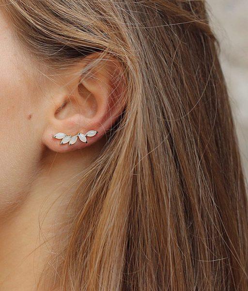 Boucles d'oreilles ICE DROPS argent