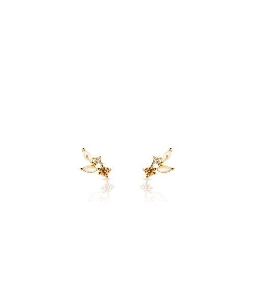 Boucles d'oreilles CLOUD or