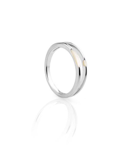 Anell WHITE plata