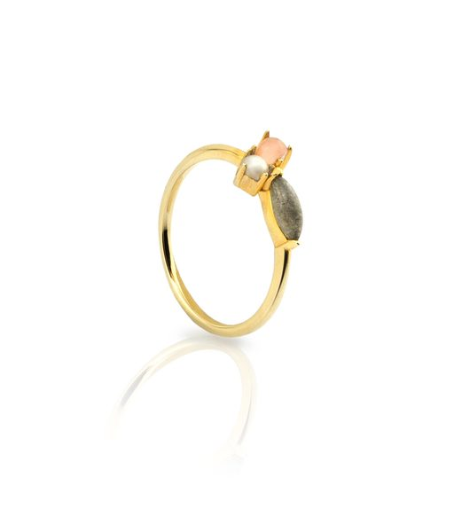 Bague ESCARLET or