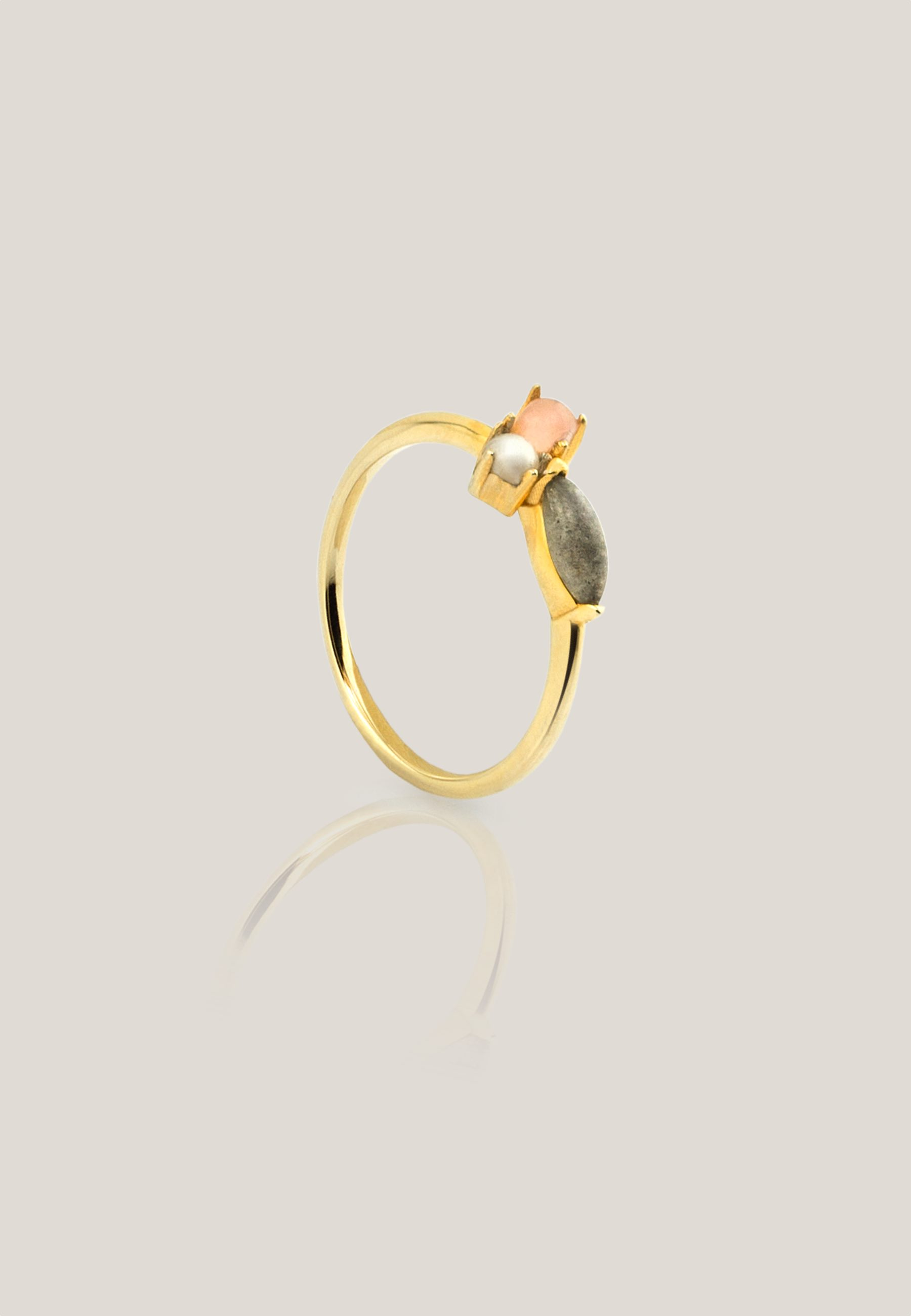 ESCARLET gold ring