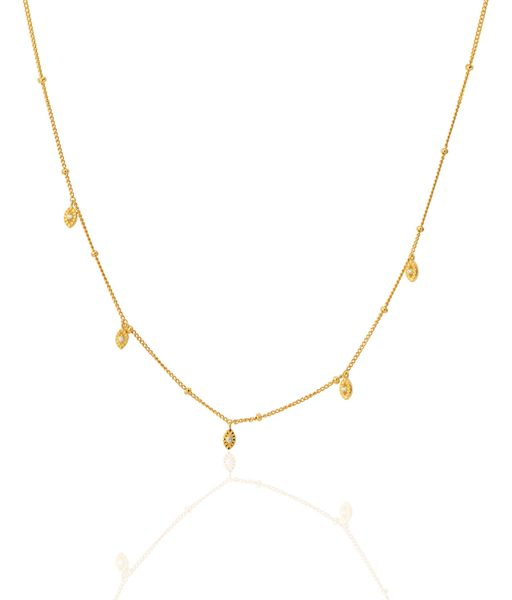 SHORT BILLIONS gold necklace