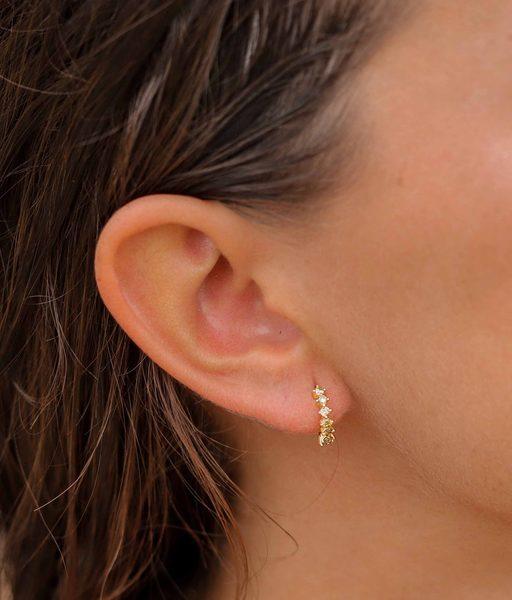 Boucles d'oreilles LEMONADE or