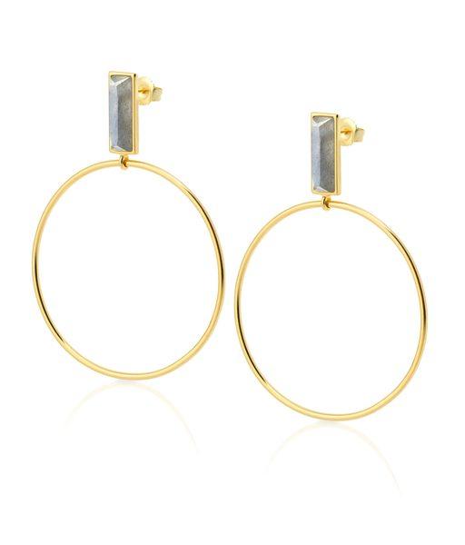 ARTILES gold earrings