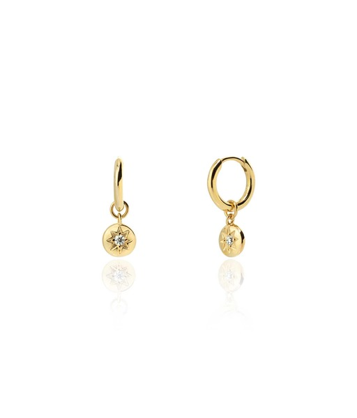 Boucles d'oreilles SAVAGE or