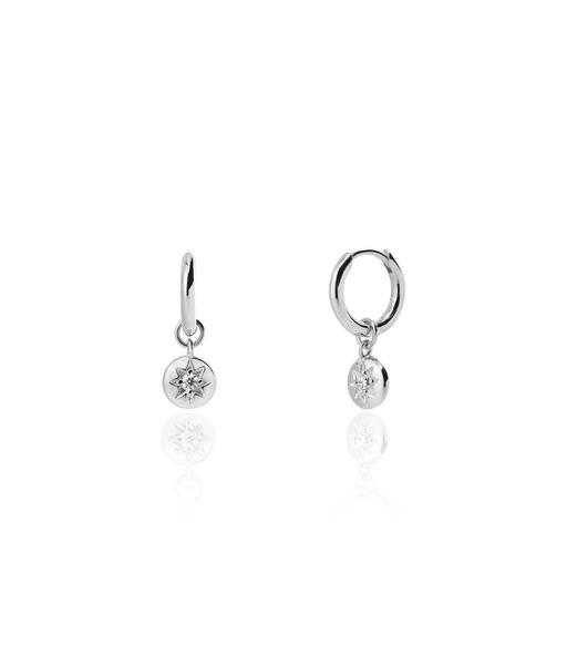 Boucles d'oreilles SAVAGE plata