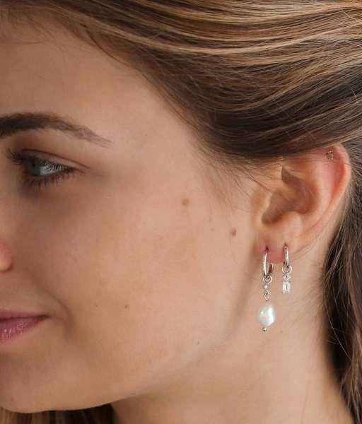 Boucles d'oreilles ASTRID argent