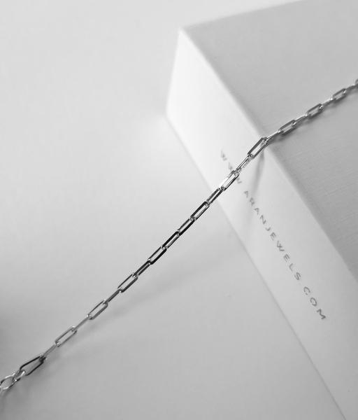 THIN silver bracelet