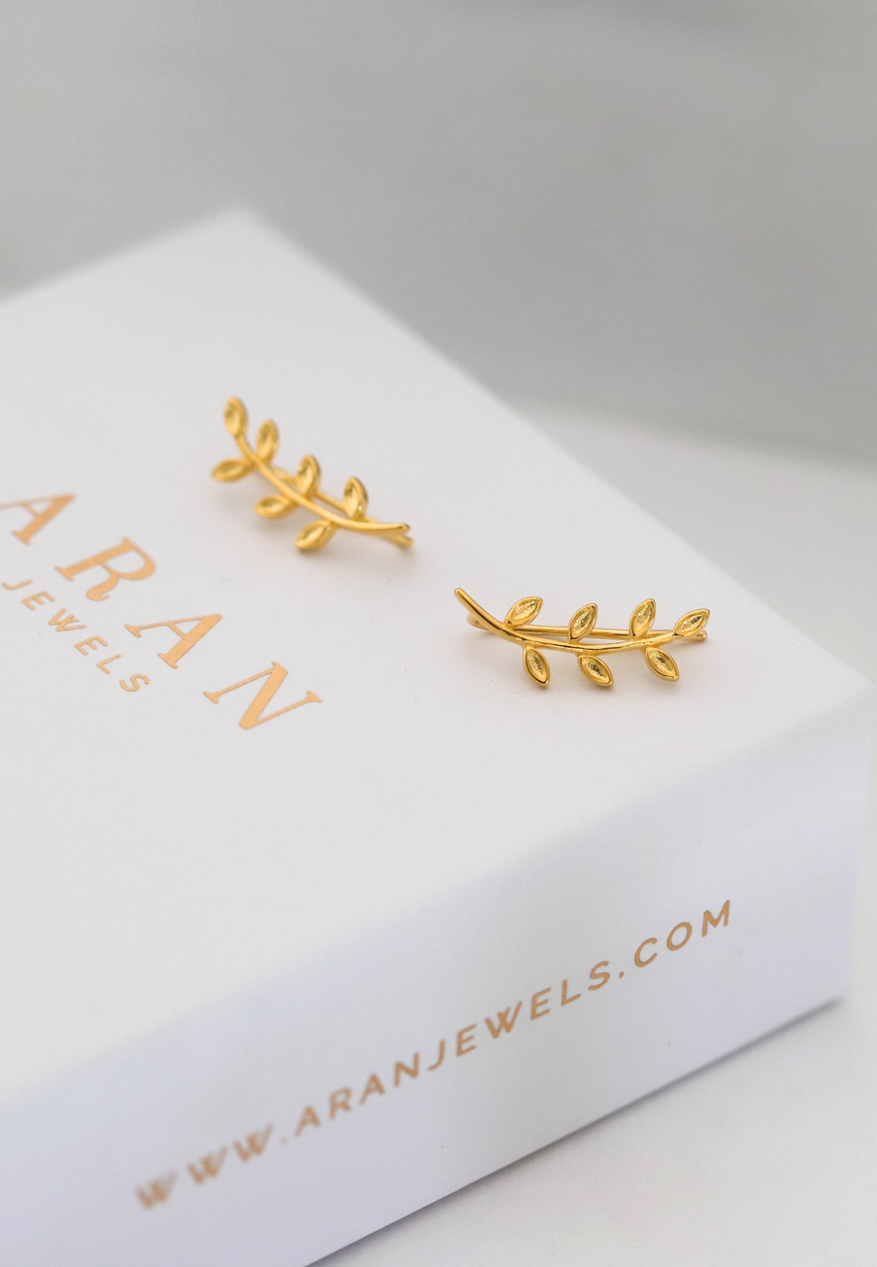 BRANCHE gold earrings