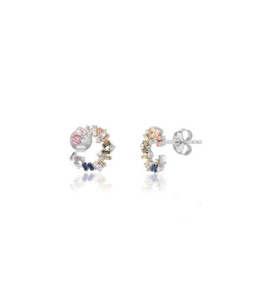 CARACOLA silver earrings
