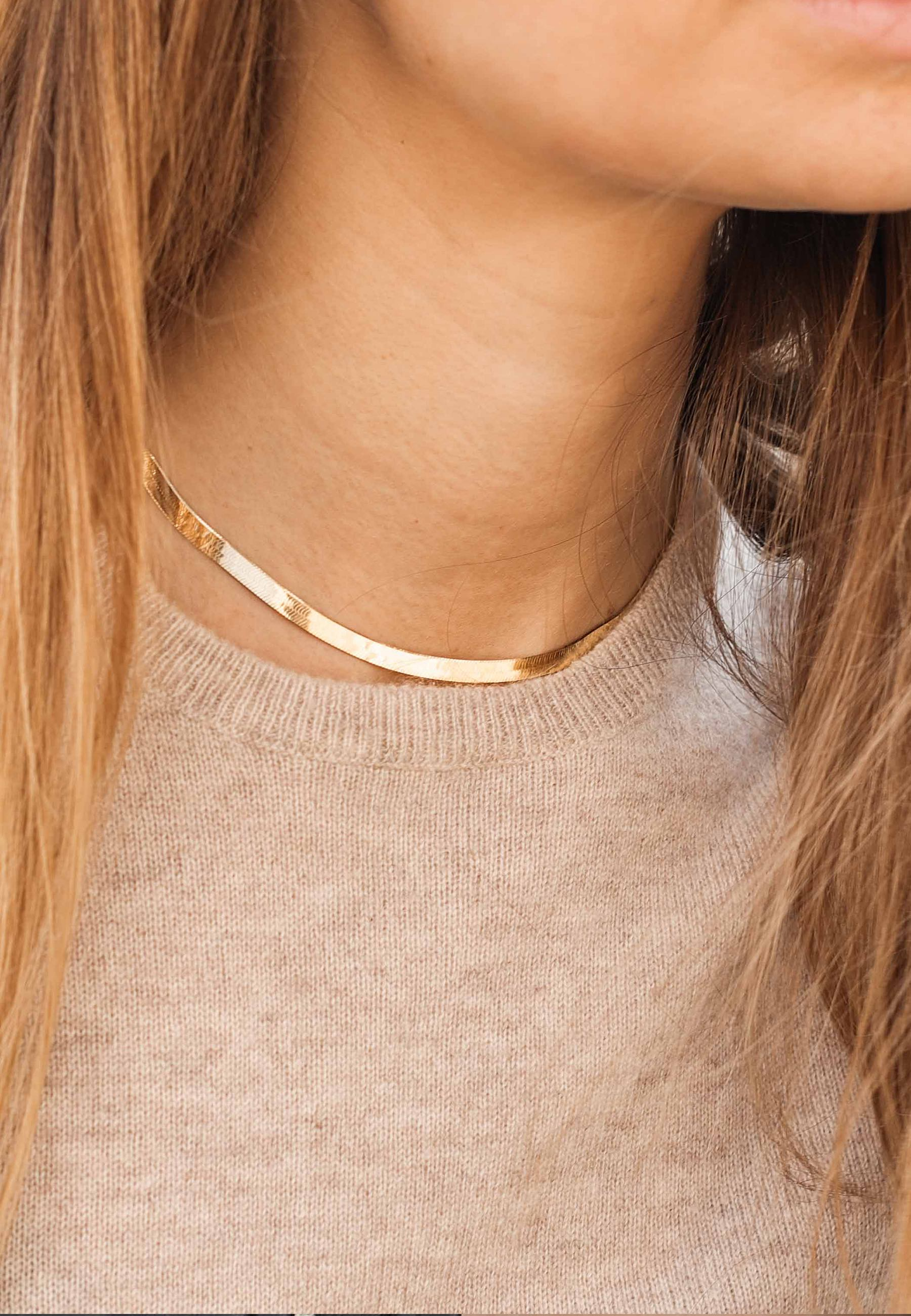 Collar thick snake oro4 za