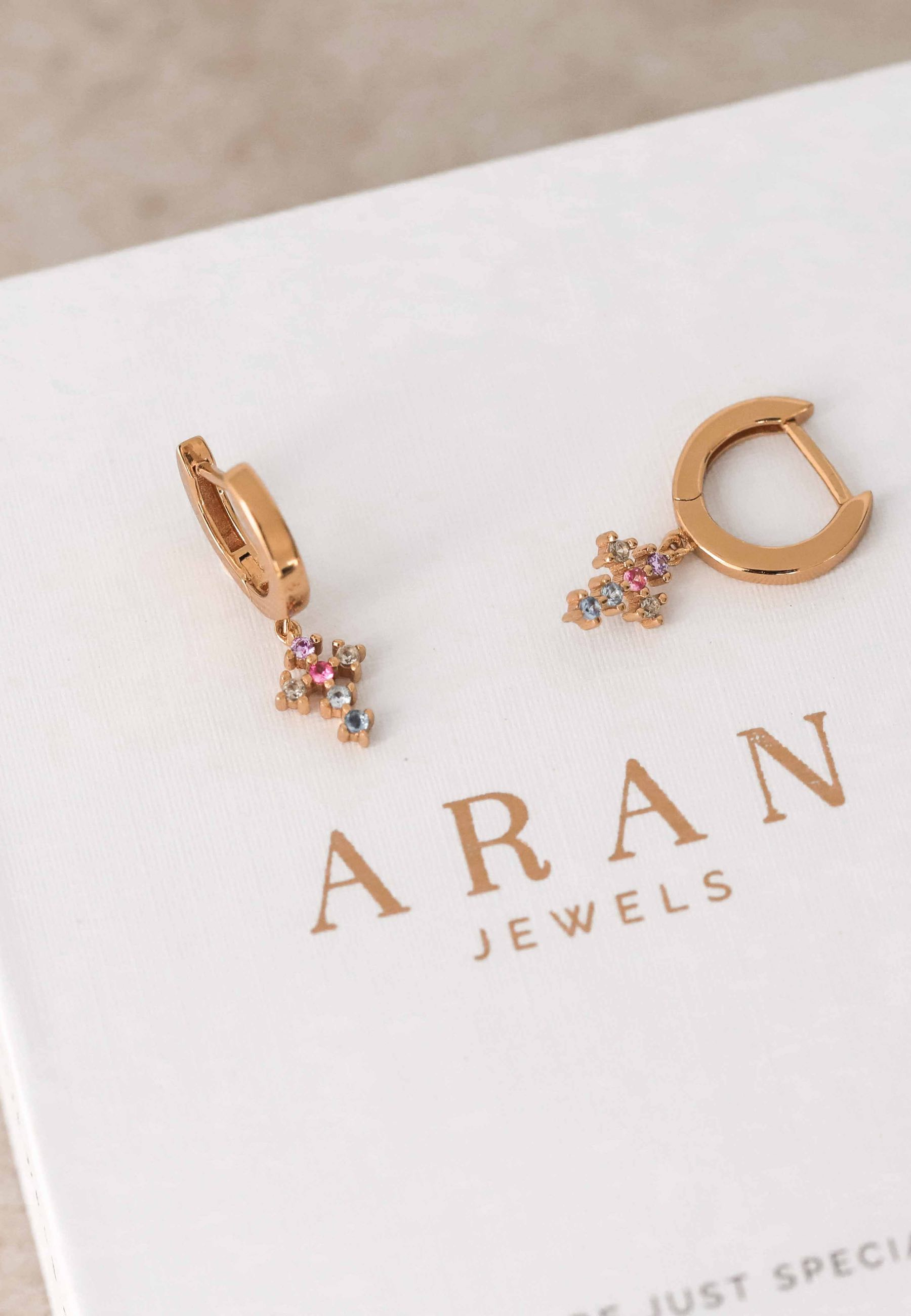 OPHRA gold earrings