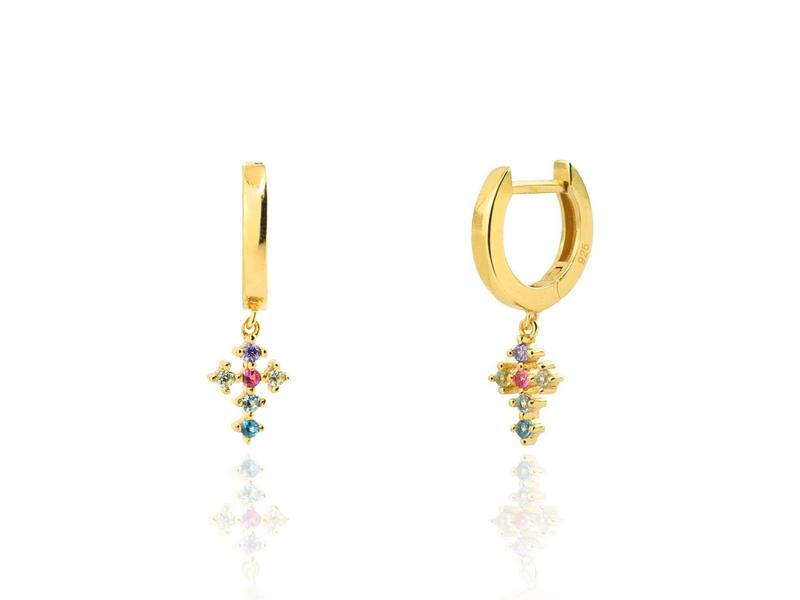 Boucles d'oreilles OPHRA or