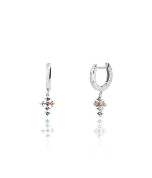 OPHRA silver earrings