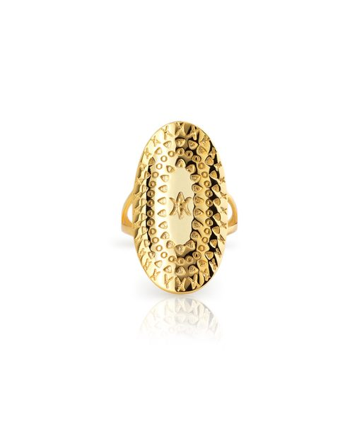 BOHO ring gold