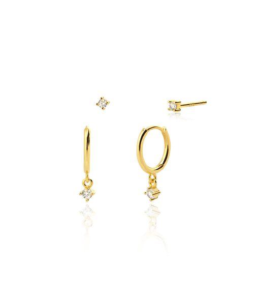 Boucles d'oreilles DIAMOND or