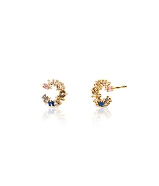 CARACOLA gold earrings