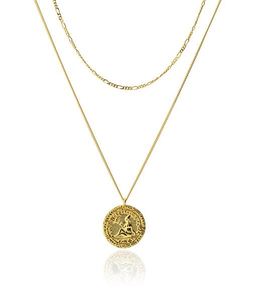 DONA gold necklace