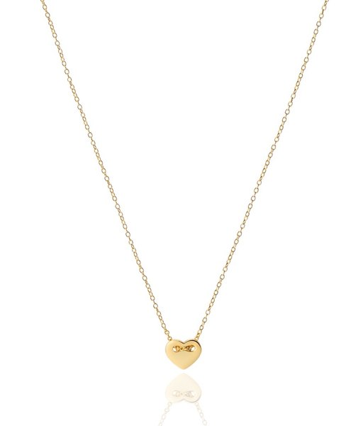 SWEET HEART gold necklace