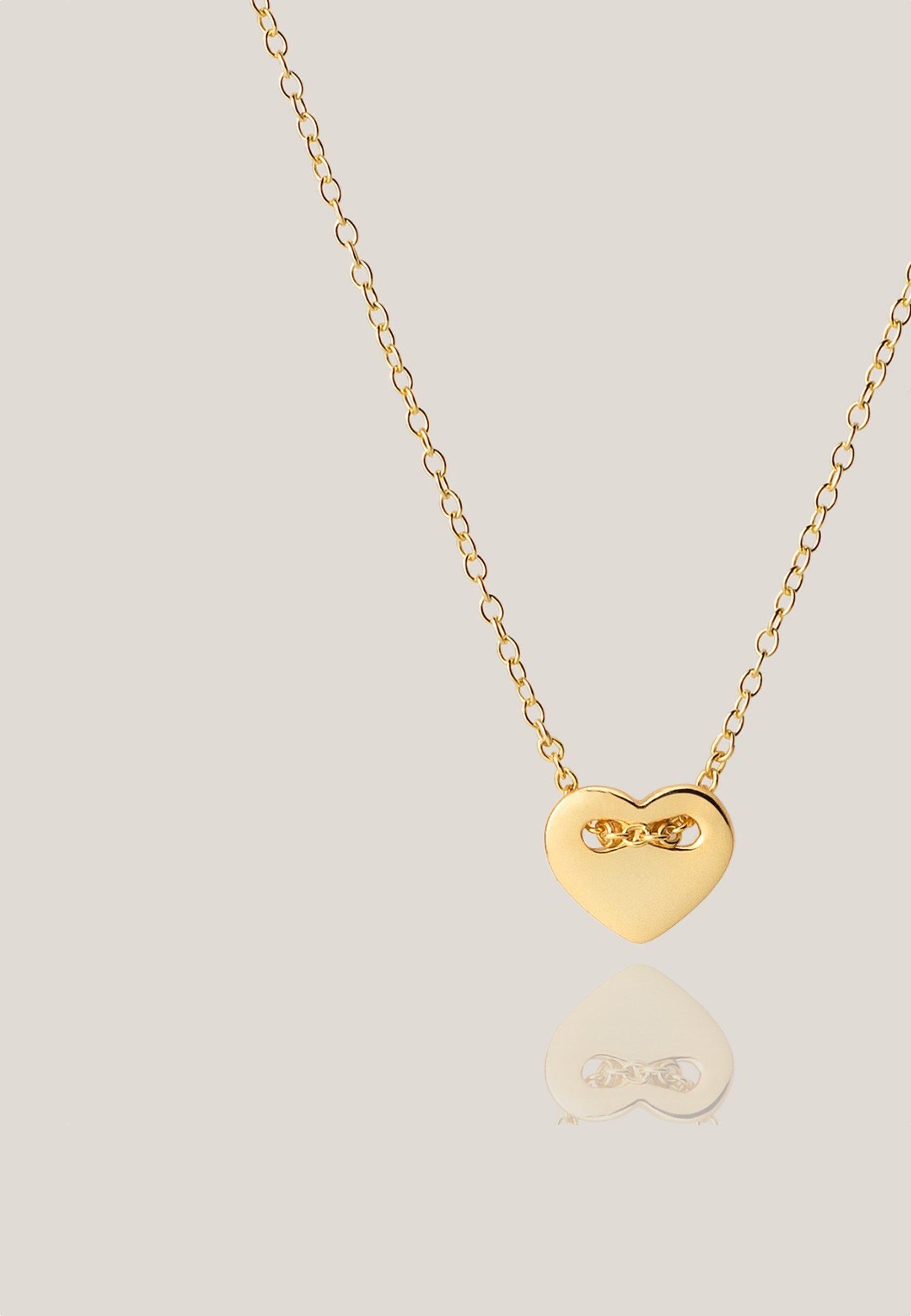 Collar sweetheart oro za
