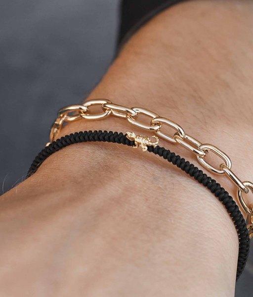 CROCODILE gold bracelet