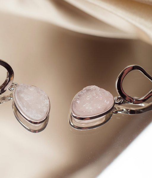 SPRING silver earrings