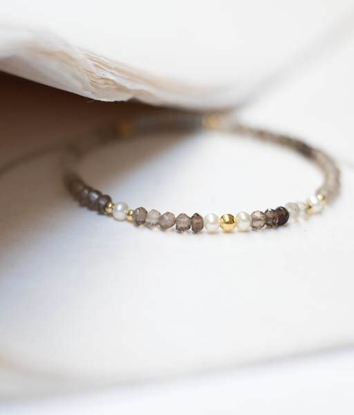 PERLITAS CUARZO gold bracelet