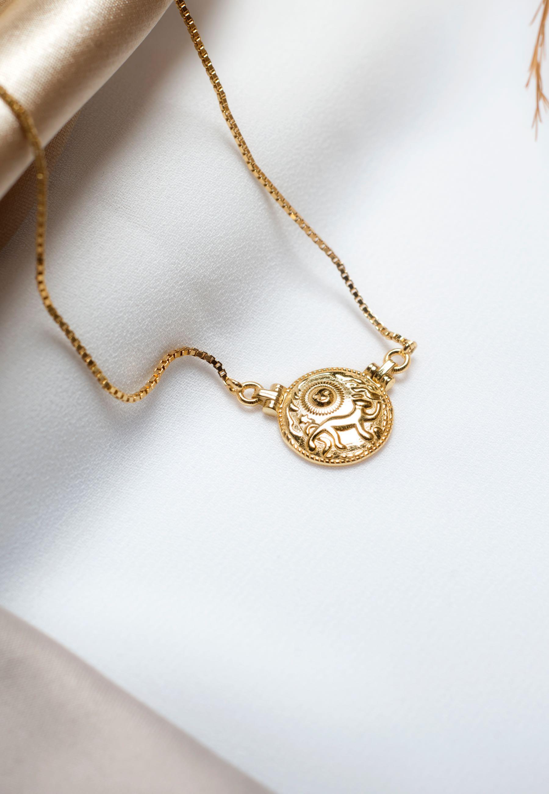 Collar lionne oro 02za