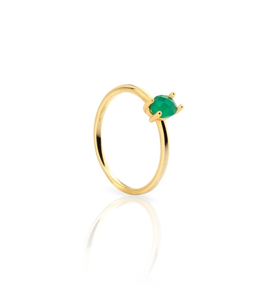 ESMERALDA gold ring