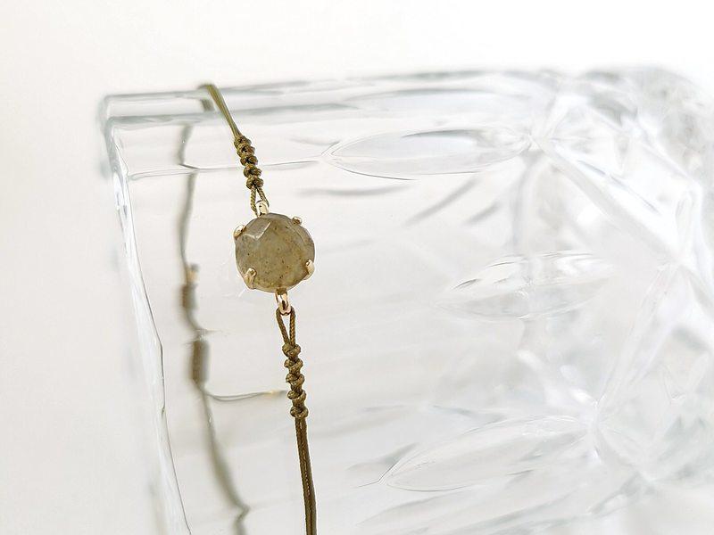 Bracelet PIEZA LABRADORITA or