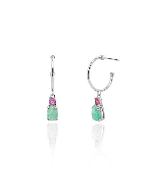 MINA silver earrings