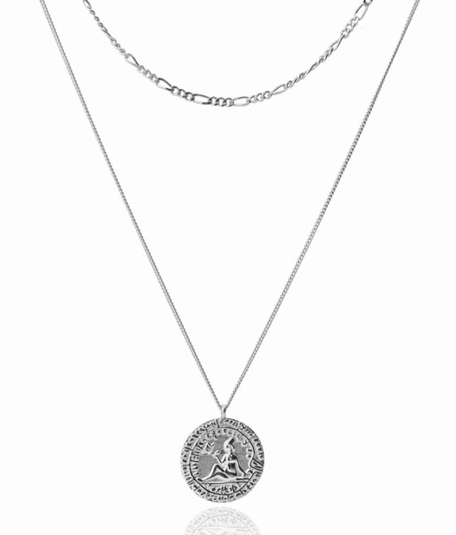 DONA silver necklace