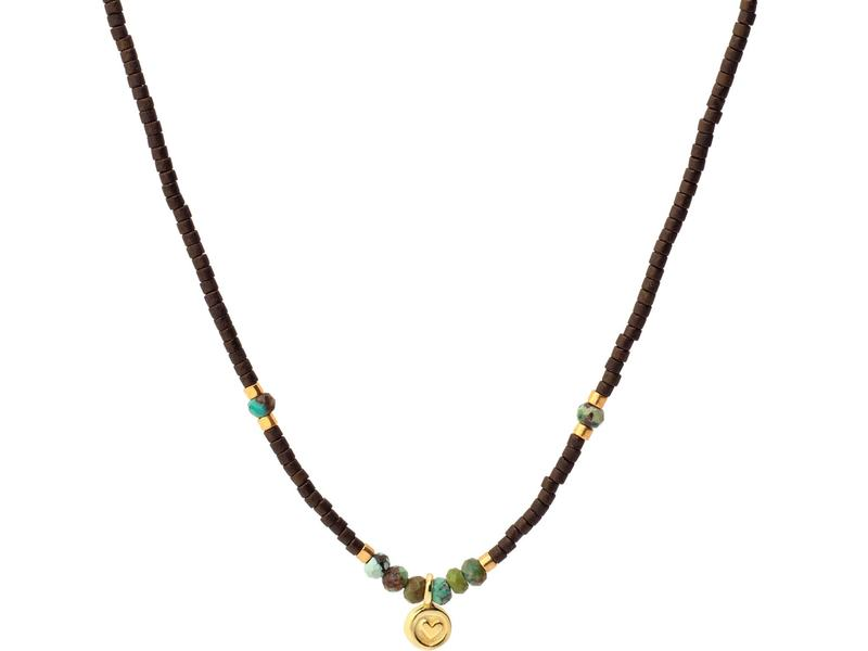 BOHEMIAN gold necklace