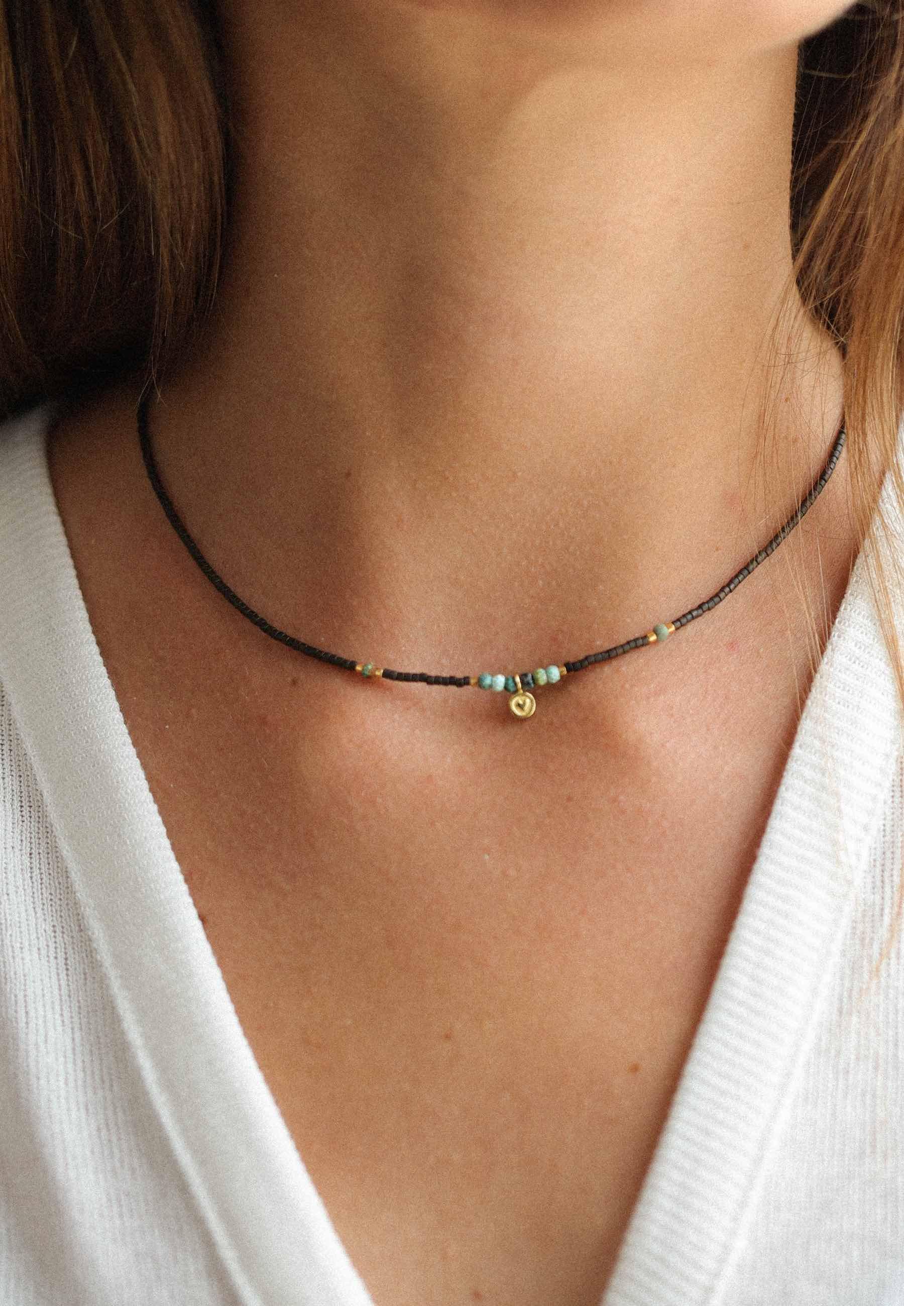 Collar bohemian oro3 za