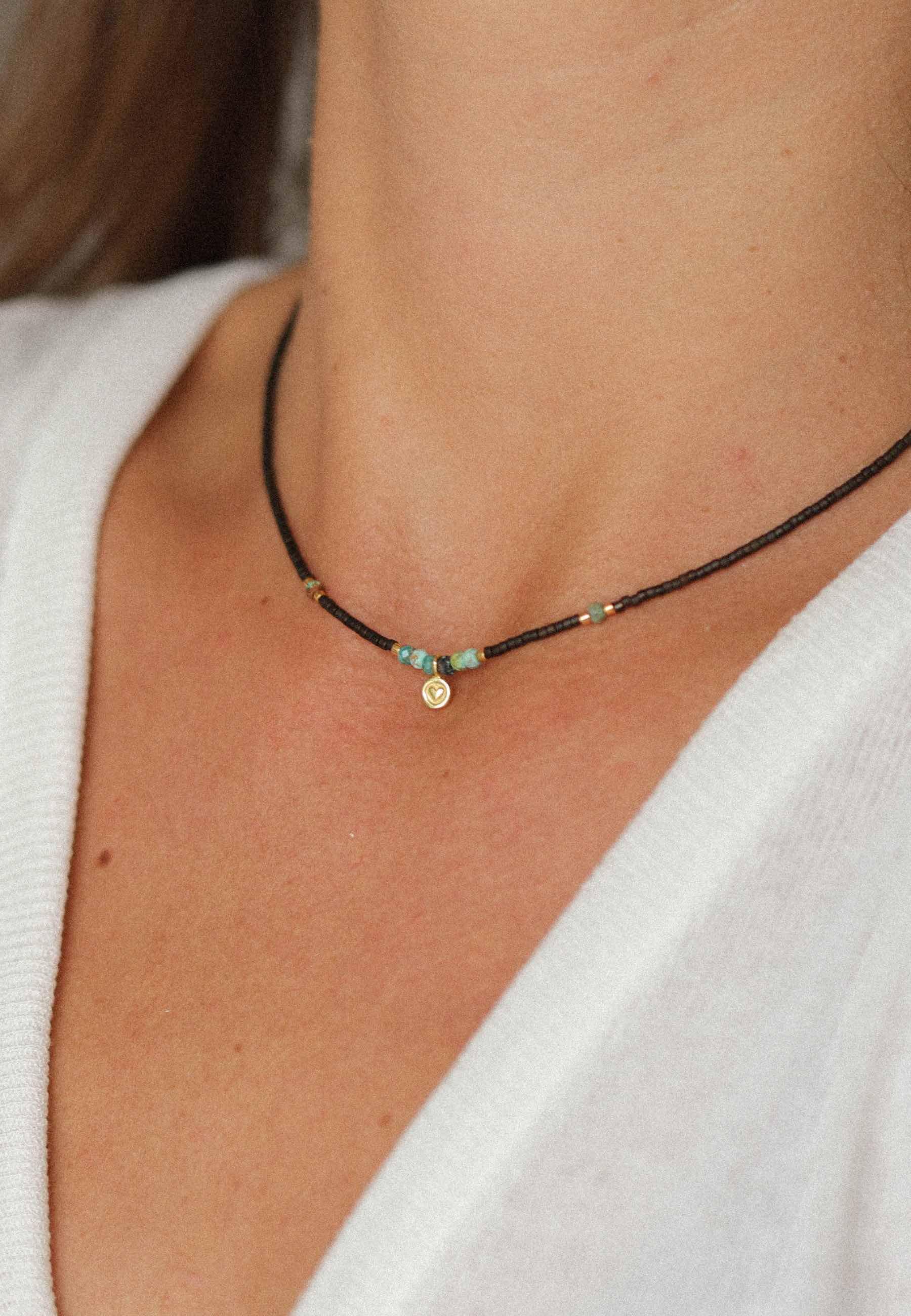 Collar bohemian oro4 za