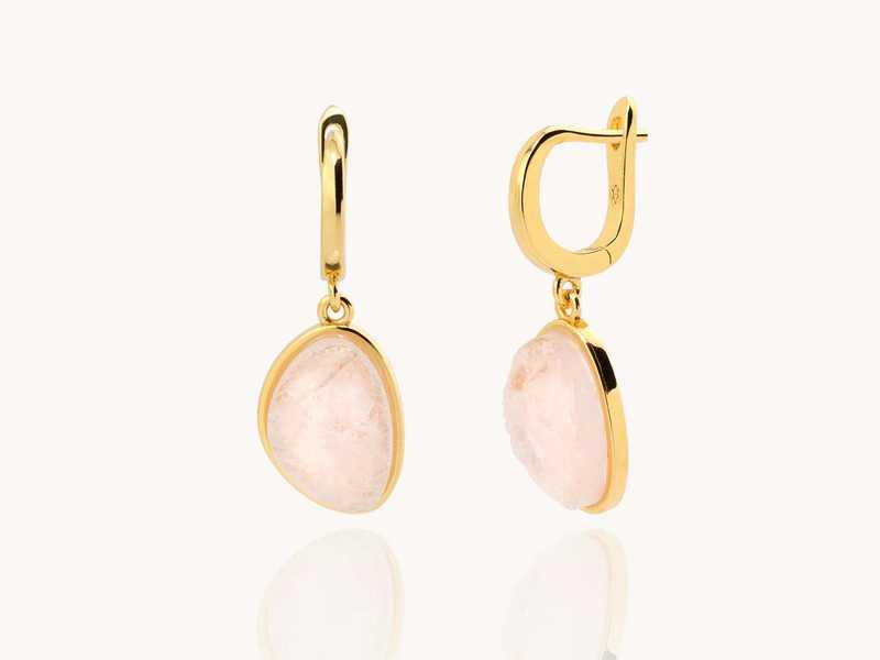 SPRING gold earrings