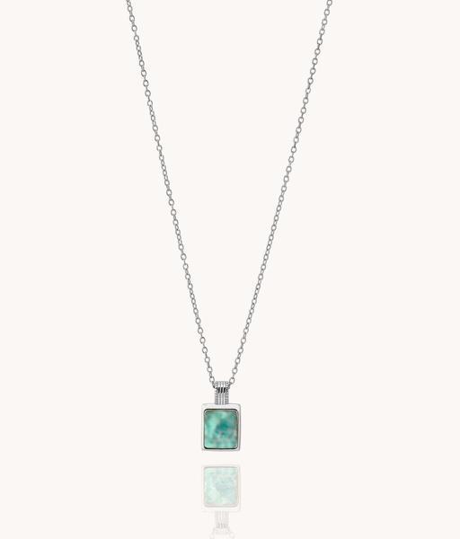 MINA silver necklace