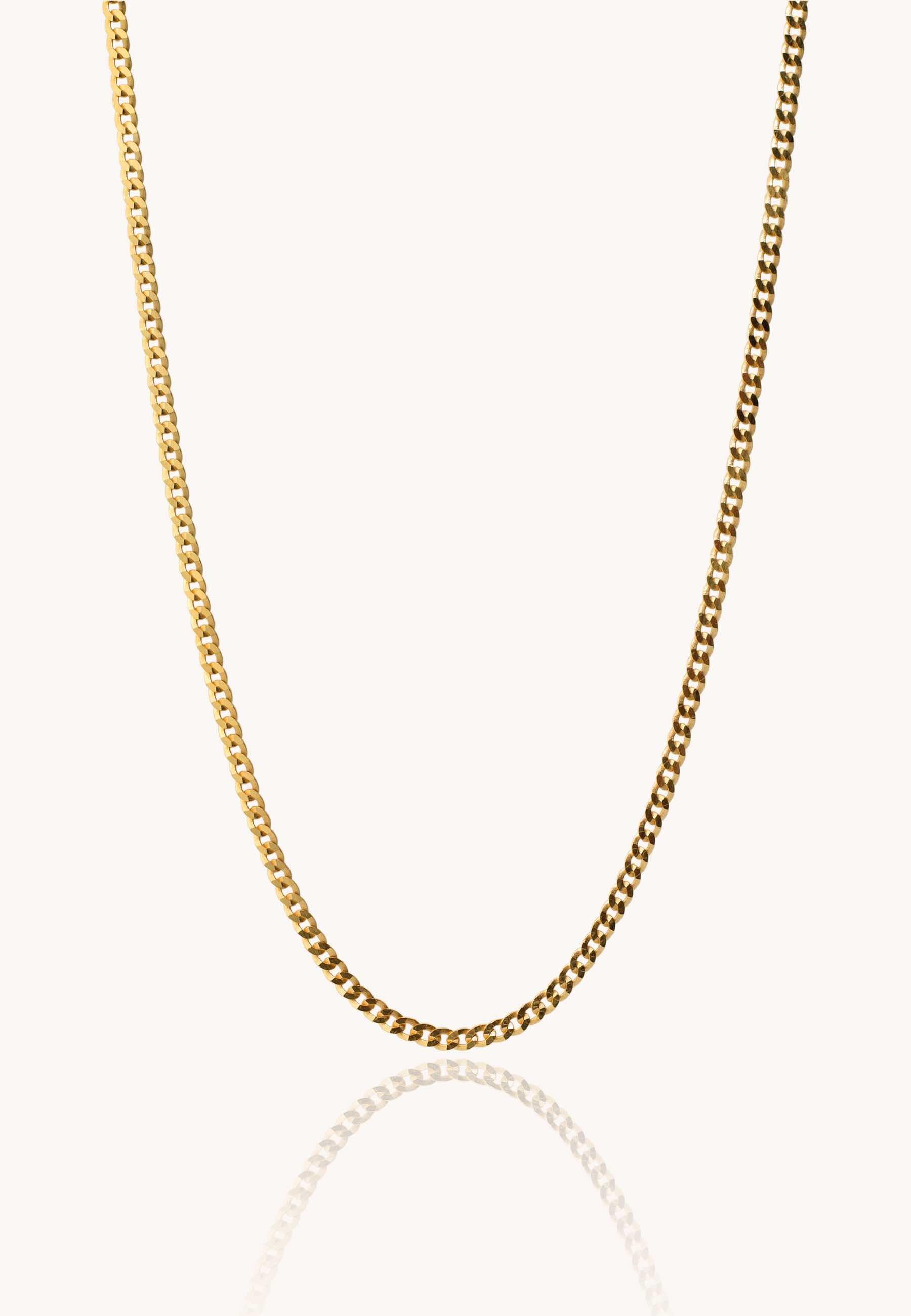 Collar connel men oro za