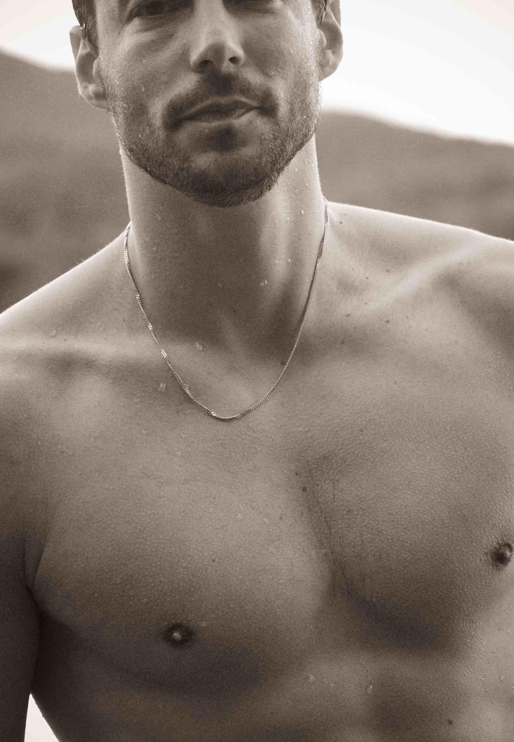 Collar connel men oro4 za