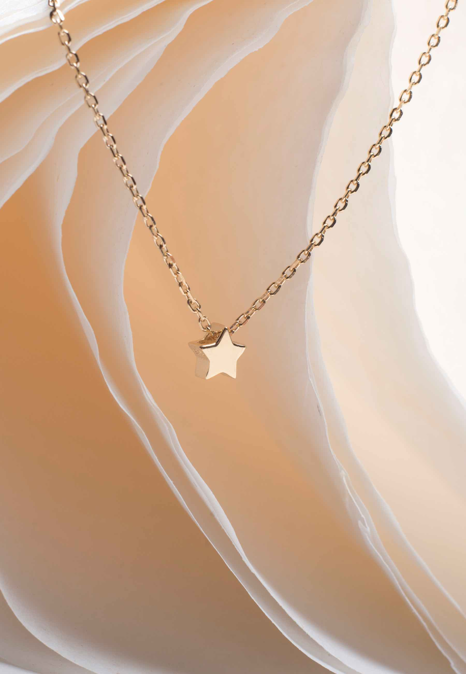 Collar star oro3 za