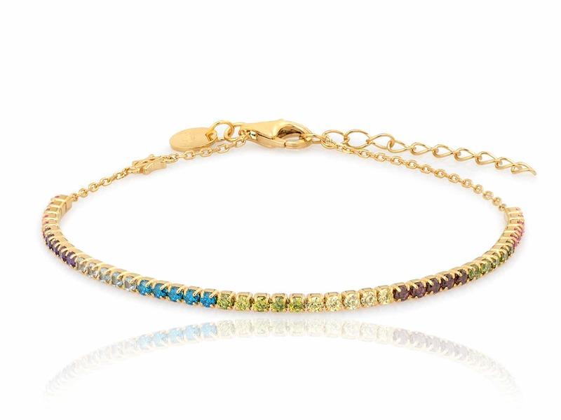ARCOIRIS gold bracelet
