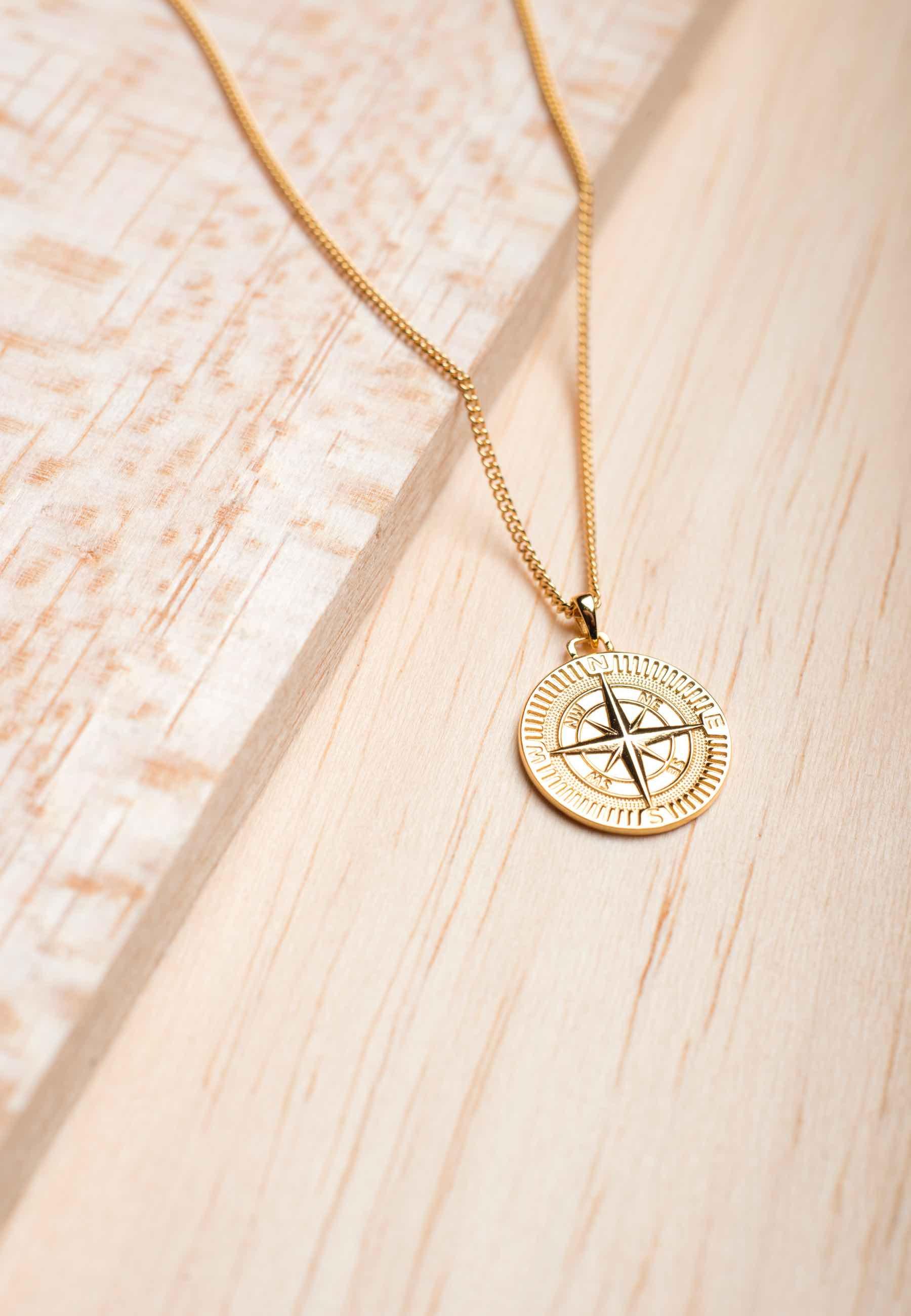 Collar h compass oro2 za
